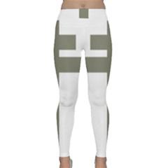 Cross Of Lorraine  Classic Yoga Leggings