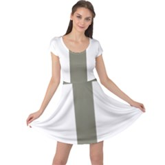 Cross Of Lorraine  Cap Sleeve Dresses