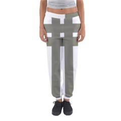 Cross Of Lorraine  Women s Jogger Sweatpants