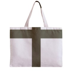 Cross Of Lorraine  Zipper Mini Tote Bag