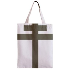 Cross of Lorraine  Zipper Classic Tote Bag