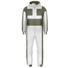Cross Of Lorraine  Hooded Jumpsuit (men)