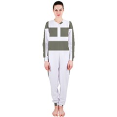Cross Of Lorraine  Onepiece Jumpsuit (ladies)