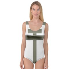 Cross Of Lorraine  Princess Tank Leotard