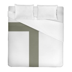 Cross Of Lorraine  Duvet Cover (full/ Double Size)