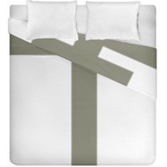 Cross Of Lorraine  Duvet Cover Double Side (king Size)