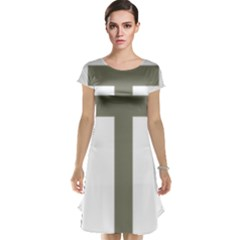 Cross Of Lorraine  Cap Sleeve Nightdress