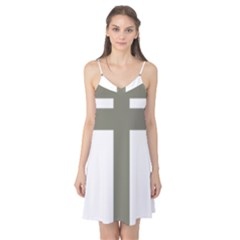 Cross Of Lorraine  Camis Nightgown