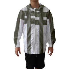 Cross Of Lorraine  Hooded Wind Breaker (kids)
