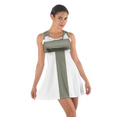 Cross Of Lorraine  Cotton Racerback Dress