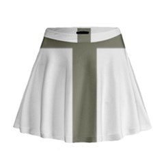 Cross Of Lorraine  Mini Flare Skirt