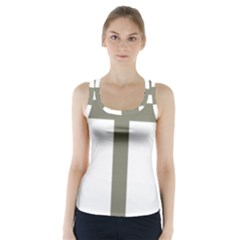 Cross Of Lorraine  Racer Back Sports Top