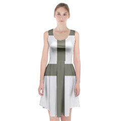 Cross Of Lorraine  Racerback Midi Dress