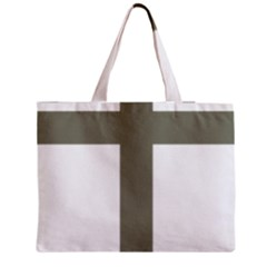 Cross Of Lorraine  Medium Zipper Tote Bag