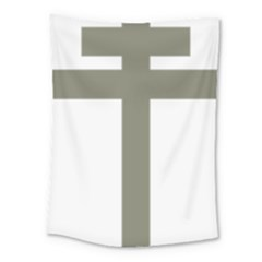 Cross Of Lorraine  Medium Tapestry