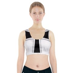 Cross Of The Teutonic Order Sports Bra With Pocket