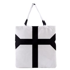Eastern Syriac Cross Grocery Tote Bag
