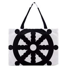 Dharmacakra Medium Zipper Tote Bag
