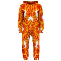 Dharmacakra Hooded Jumpsuit (Ladies)