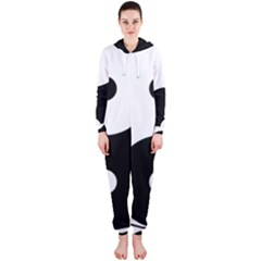 Yin & Yang Hooded Jumpsuit (Ladies)