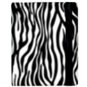 Zebra Stripes Pattern Traditional Colors Black White Samsung Galaxy Tab 8.9  P7300 Flip Case View2