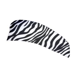 Zebra Stripes Pattern Traditional Colors Black White Stretchable Headband