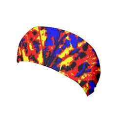 Fire Tree Pop Art Yoga Headband
