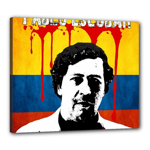 Pablo Escobar Canvas 24  X 20