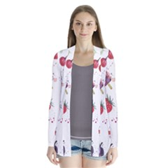 Hand Painted Summer Background  Cardigans