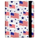Flag Of The Usa Pattern Samsung Galaxy Tab 8.9  P7300 Flip Case View2