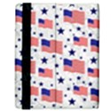 Flag Of The Usa Pattern Samsung Galaxy Tab 8.9  P7300 Flip Case View3