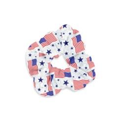 Flag Of The Usa Pattern Velvet Scrunchie