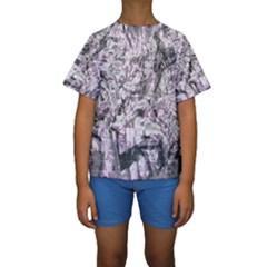 Pattern Kids  Short Sleeve Swimwear