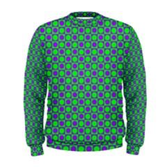 Friendly Retro Pattern A Men s Sweatshirt