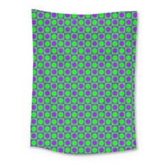 Friendly Retro Pattern A Medium Tapestry