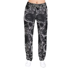 Skulls Pattern Drawstring Pants