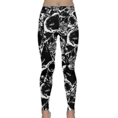 Skulls Pattern Classic Yoga Leggings