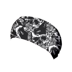 Skulls Pattern Yoga Headband