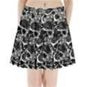 Skulls pattern Pleated Mini Skirt View1