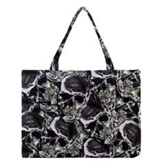 Skulls Pattern Medium Tote Bag