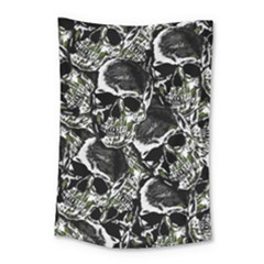 Skulls Pattern Small Tapestry