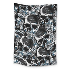 Skulls Pattern Large Tapestry
