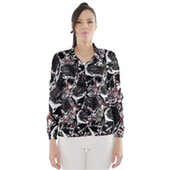 Skulls Pattern Wind Breaker (women)