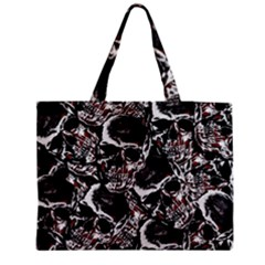 Skulls Pattern Medium Tote Bag