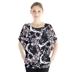 Skull Pattern Blouse