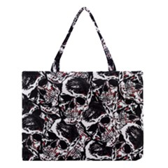 Skull Pattern Medium Tote Bag