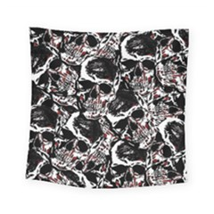 Skull Pattern Square Tapestry (small)