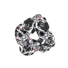 Skull Pattern Velvet Scrunchie