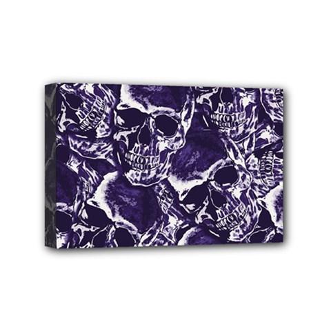 Skull Pattern Mini Canvas 6  X 4