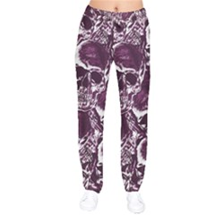 Skull Pattern Drawstring Pants